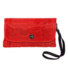 Smateria Travel Wallet: Persimmon