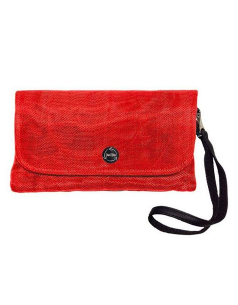 Smateria Smateria Travel Wallet: Persimmon