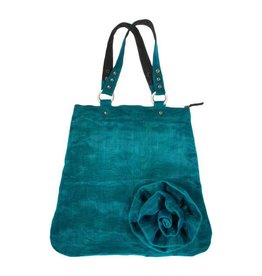 Smateria Cache Flower Bag: Teal