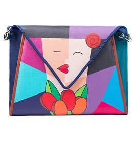 Jacqueline Suriano Lola Clutch: The Kiss