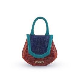 Jacqueline Suriano Mini Levi: Red/Blue