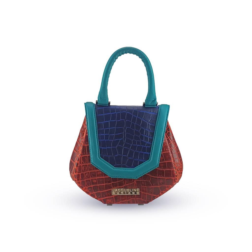 Jacqueline Suriano Jacqueline Suriano Mini Levi: Red/Blue