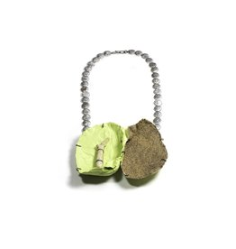 Myung Urso Necklace: Green Rezo
