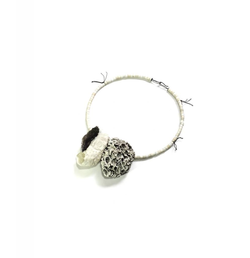 Myung Urso Myung Urso Necklace: White Rezo