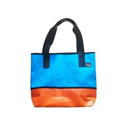 Alchemy Goods Ad Tote: Blue & Orange