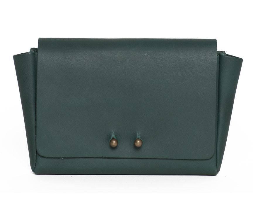 Jo Jo Mini Wallet: Basil