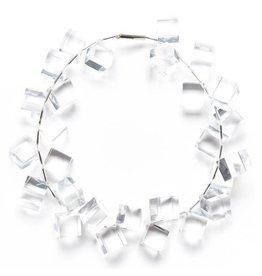 Laurent Guillot Cubes Necklace: Clear