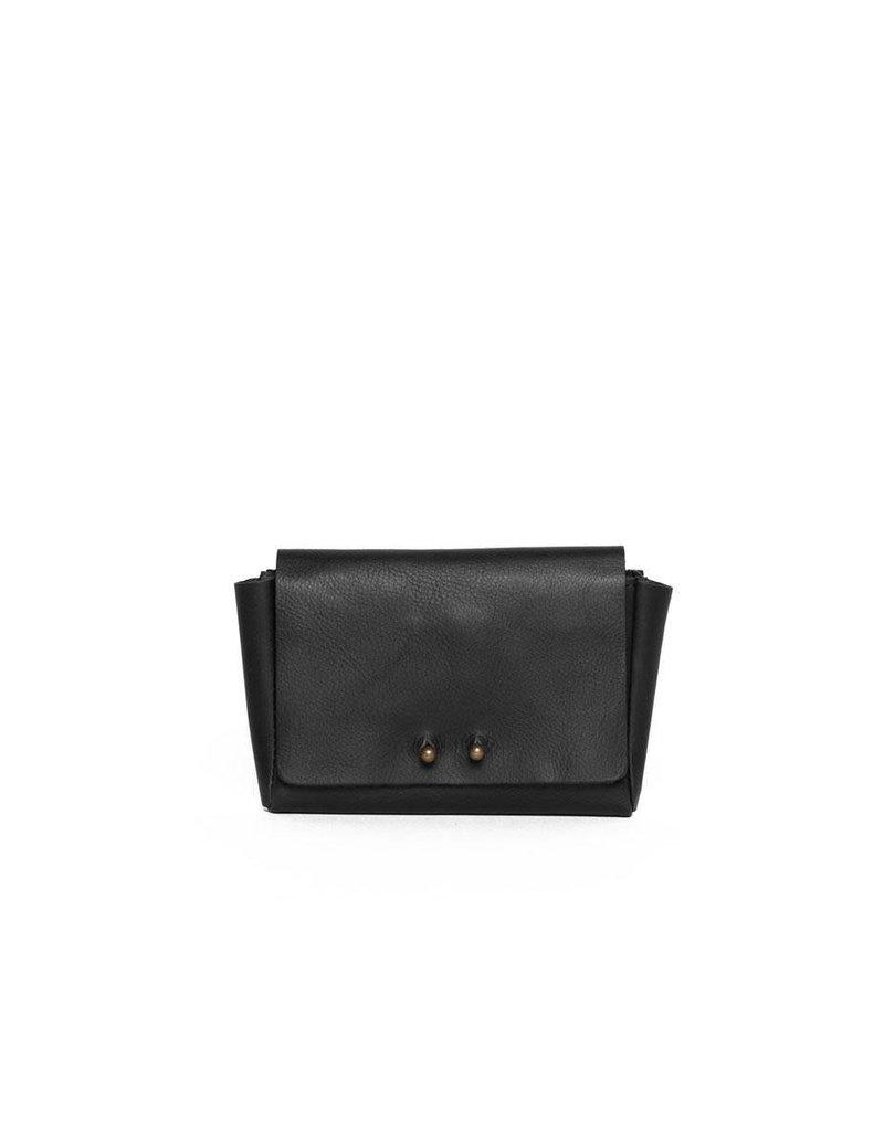 Jo Jo Mini Wallet: Jet Black