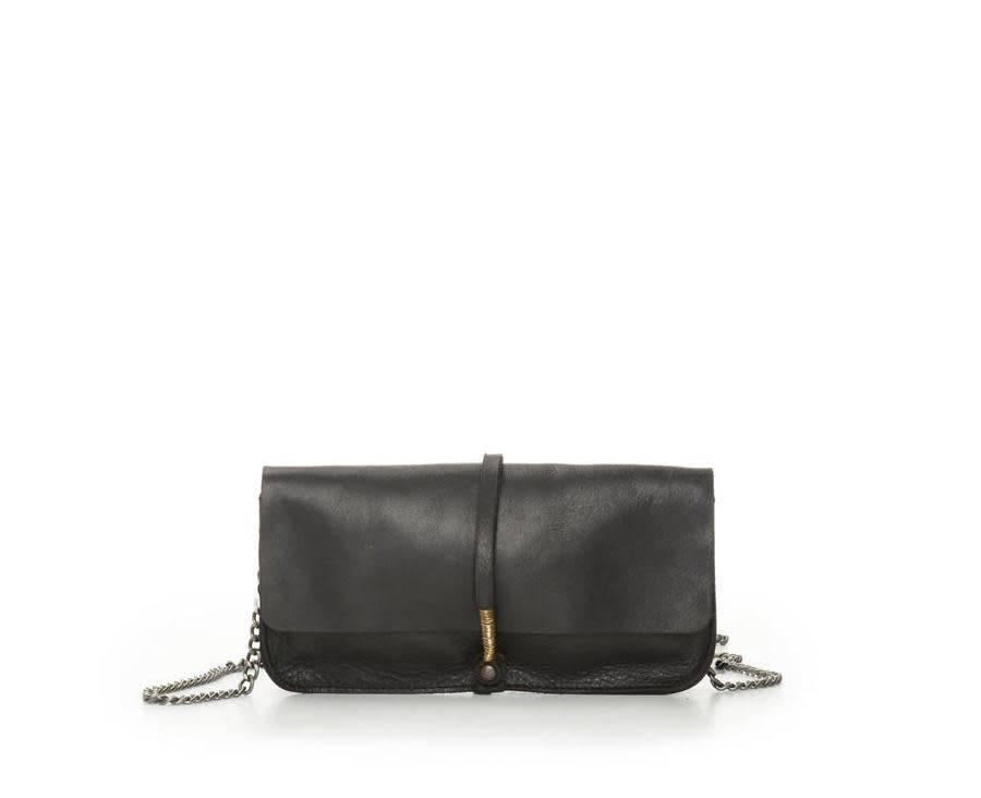 Jo Jo Wire Wallet Clutch: Timber
