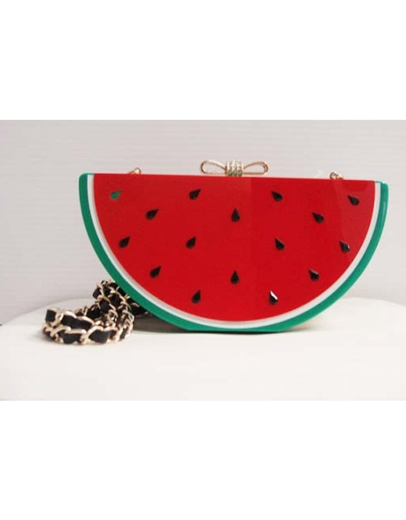 Veneto Veneto Watermelon Evening Bag