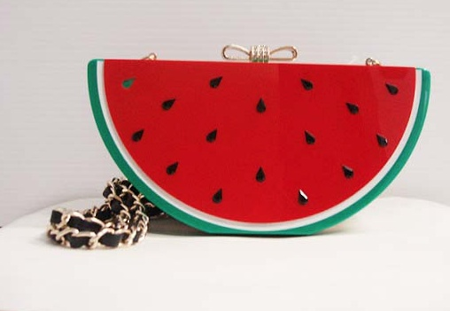 Veneto Veneto Watermelon Evening Bag