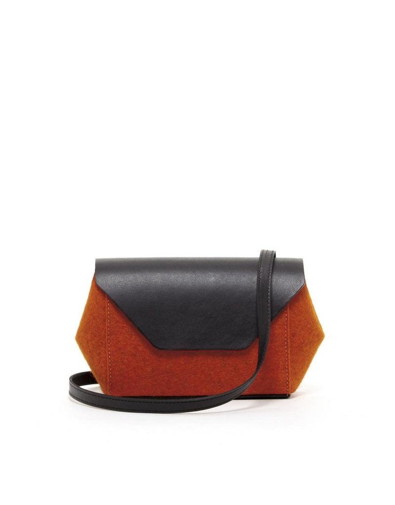 Graf Lantz Graf Lantz Cecil Petite: Heather Orange Felt