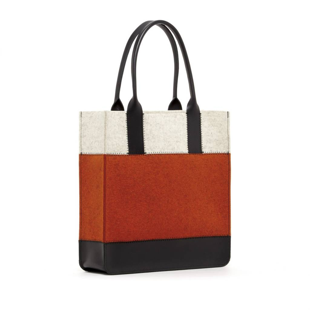 Graf Lantz Graf Lantz Jaunt Tote: Heather Orange