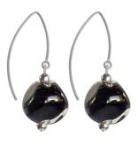 Italianissimo Italianissimo Pebble Earrings: Black