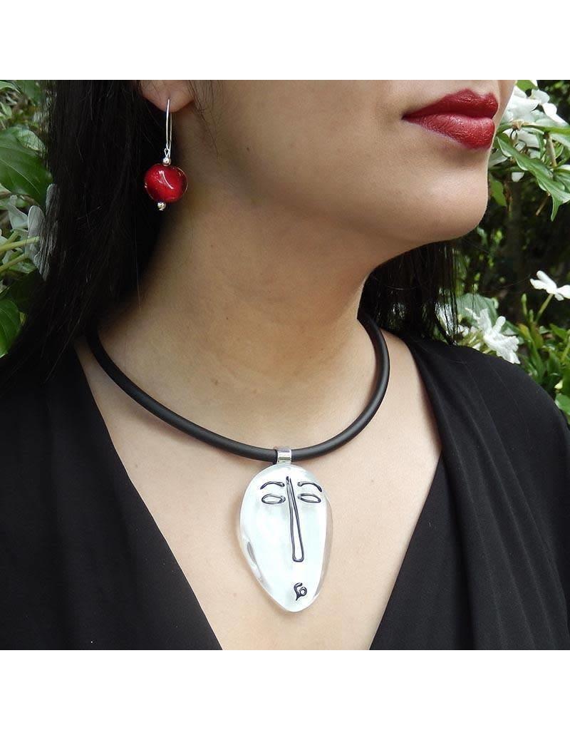 Italianissimo Italianissimo Sketch Necklace: #5 Modigliani