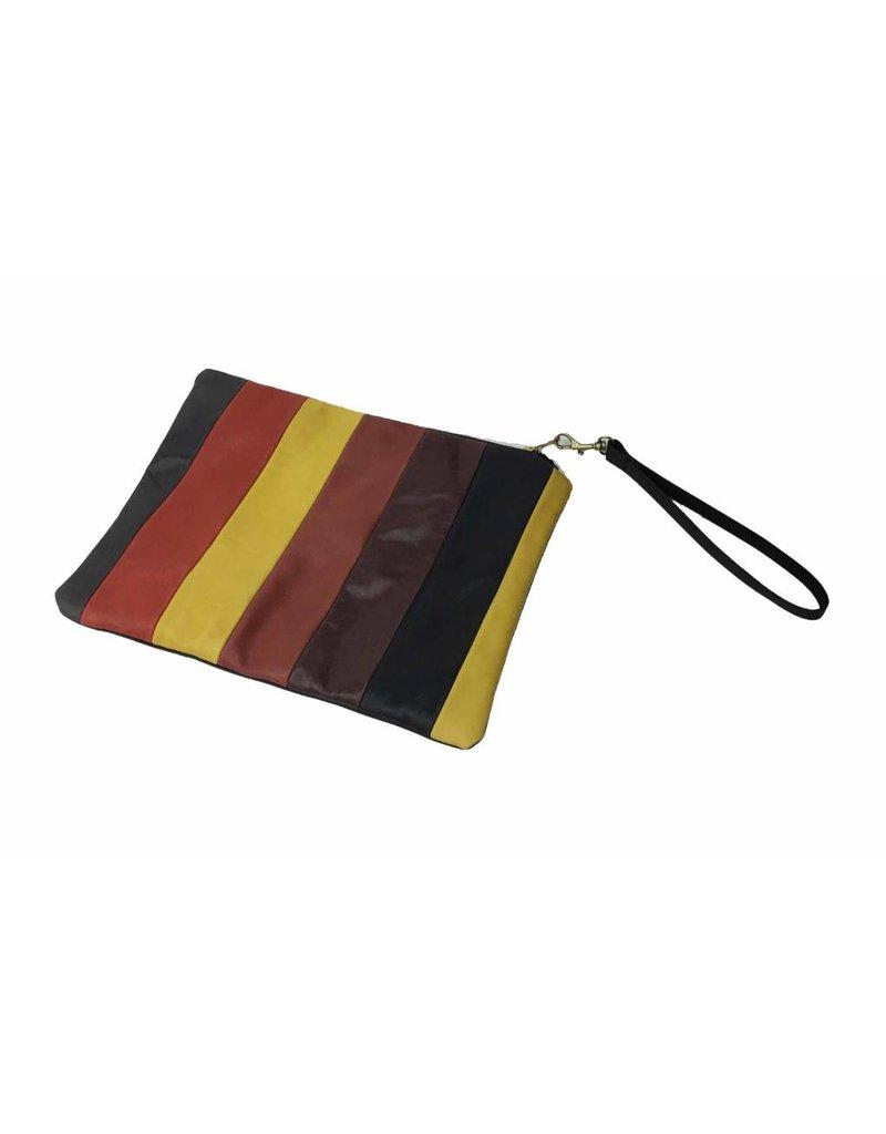 C.A.S. Handmade C.A.S. Handmade Clutch: Stripe