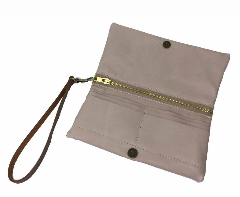 C.A.S. Handmade C.A.S. Handmade Luna Wallet: Blush