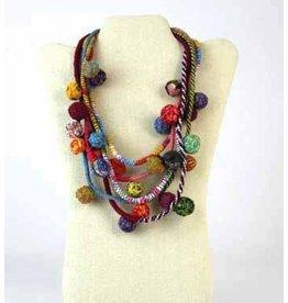 Beyond Threads Fiorella Necklace: Multi