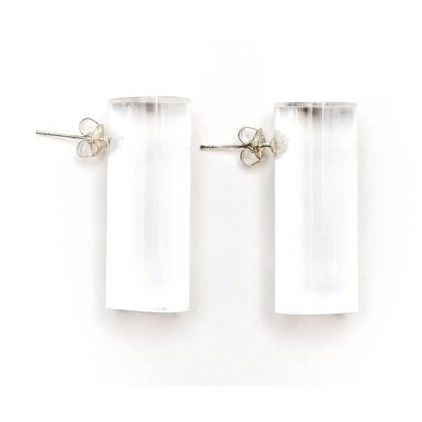 Laurent Guillot Laurent Guillot Archi Earrings: Clear
