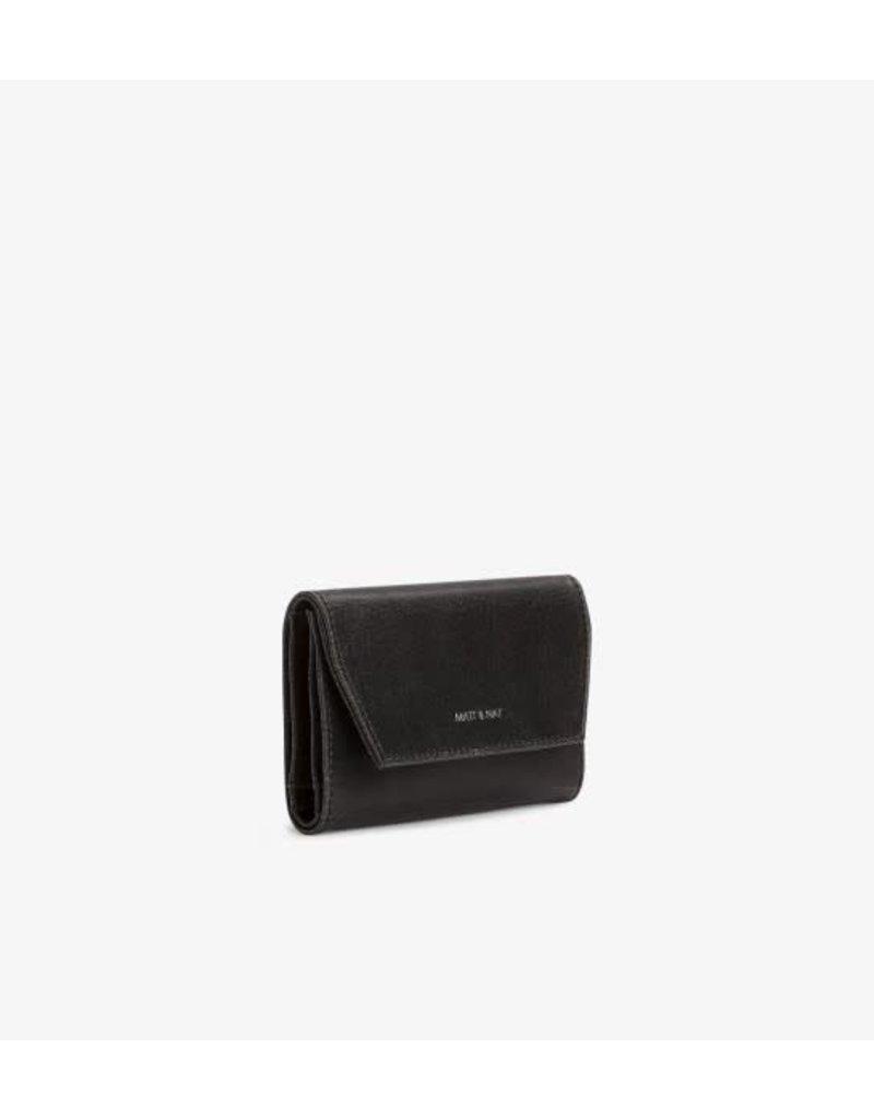 Matt & Nat Matt & Nat Vera Small Wallet: Black