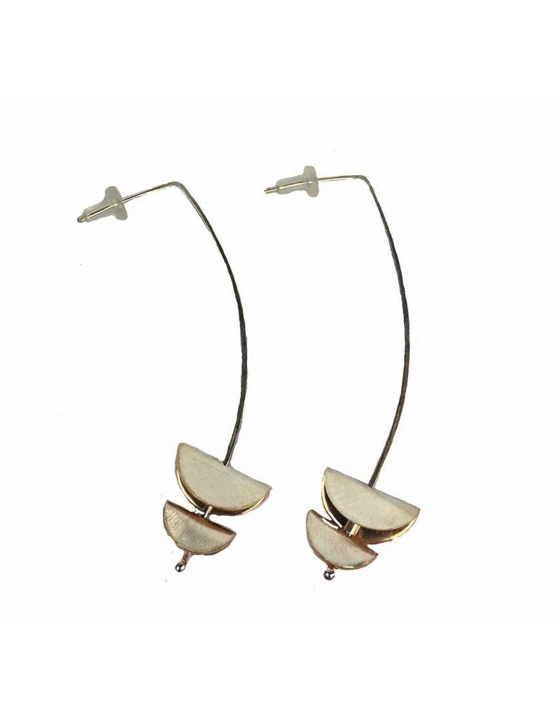 Inteplei Inteplei Taco Duo Earrings