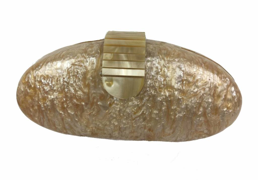 Veneto Veneto Ivory Evening Bag