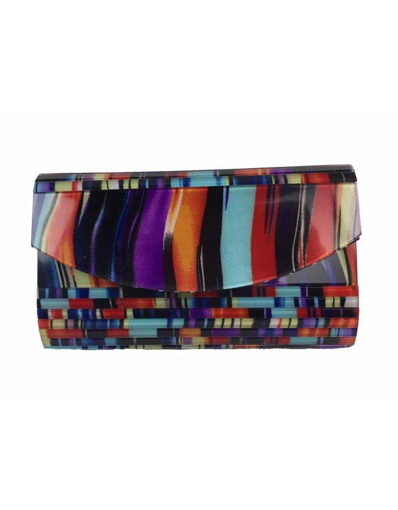 Veneto Veneto Multicolor Evening Bag
