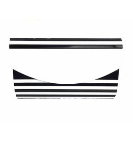 Veneto Black & White Evening Bag