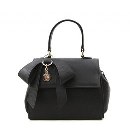 Gunas Cottontail Handbag: Black