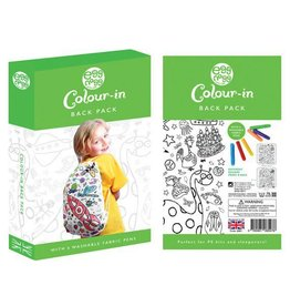 Eggnogg Color-In Backpack With Pens: Original