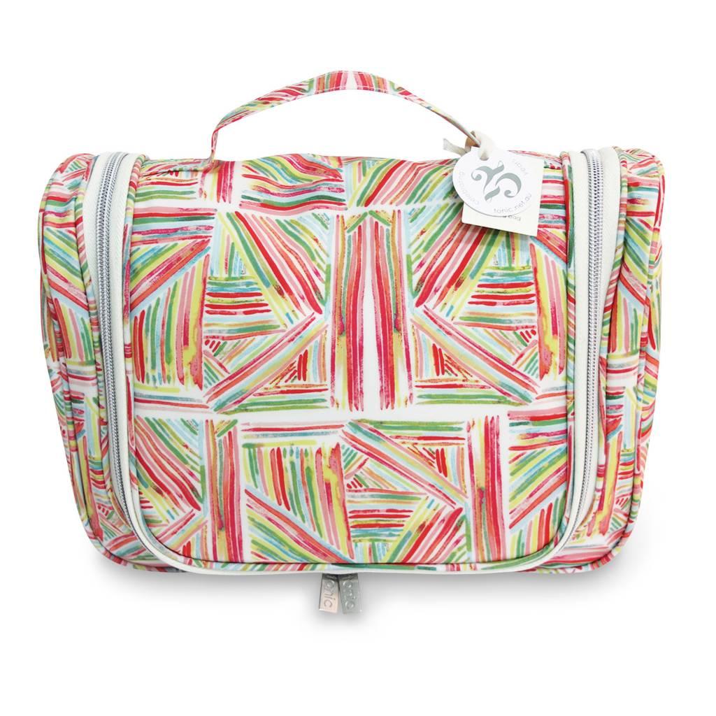 Tonic Australia Tonic Australia Cosmetic Bag: Pink Sticks