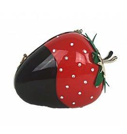 Veneto Strawberry Evening Bag
