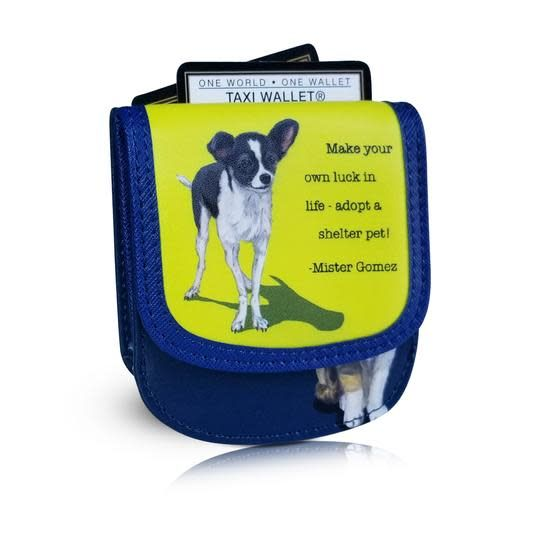 Alicia Klein Taxi Wallet, Pets Collection