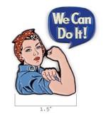 Unemployed Philosophers Unemployed Philosophers Enamel Pins: Rosie & We Can Do It