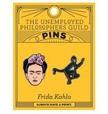 Unemployed Philosophers Unemployed Philosopher's  Enamel Pins: Frida & Monkey