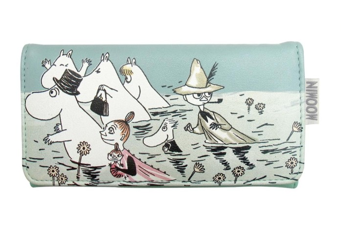 House of Disaster Disaster Wallet: Moomin River