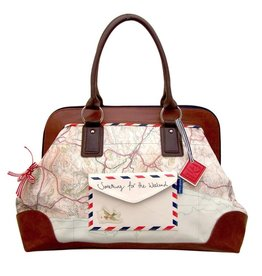 House of Disaster Overnight Bag: Paper Plane