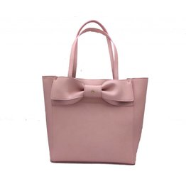 Gunas Cher Bow Tote: Pink