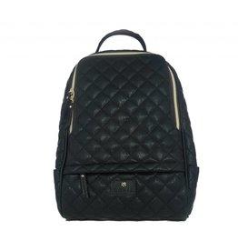 Gunas Cougar Backpack: Quilted Black