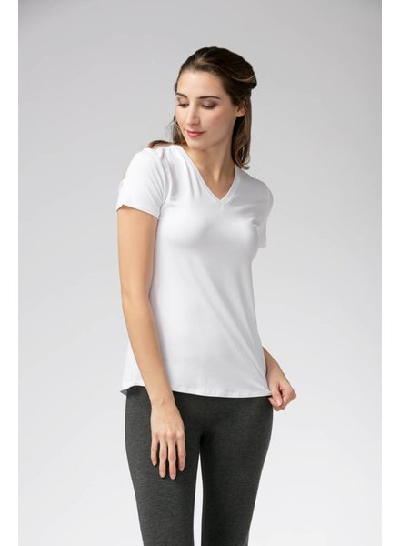 Carolyn V-Neck Bamboo T-Shirt