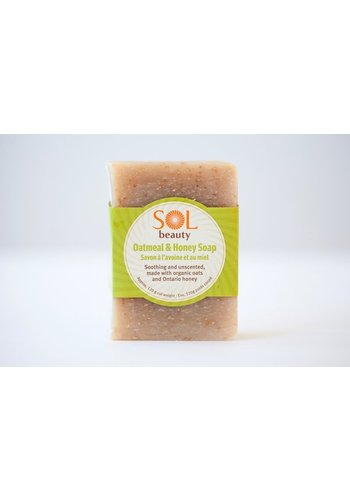 All Natural Soap - Oatmeal & Honey