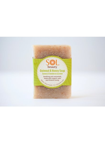 Sol All Natural Soap Oatmeal & Honey