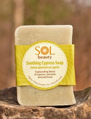 All Natural Soap - Cypress