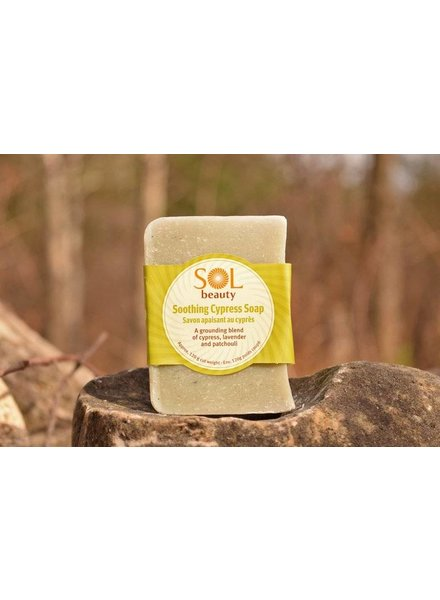 All Natural Soap Cypress