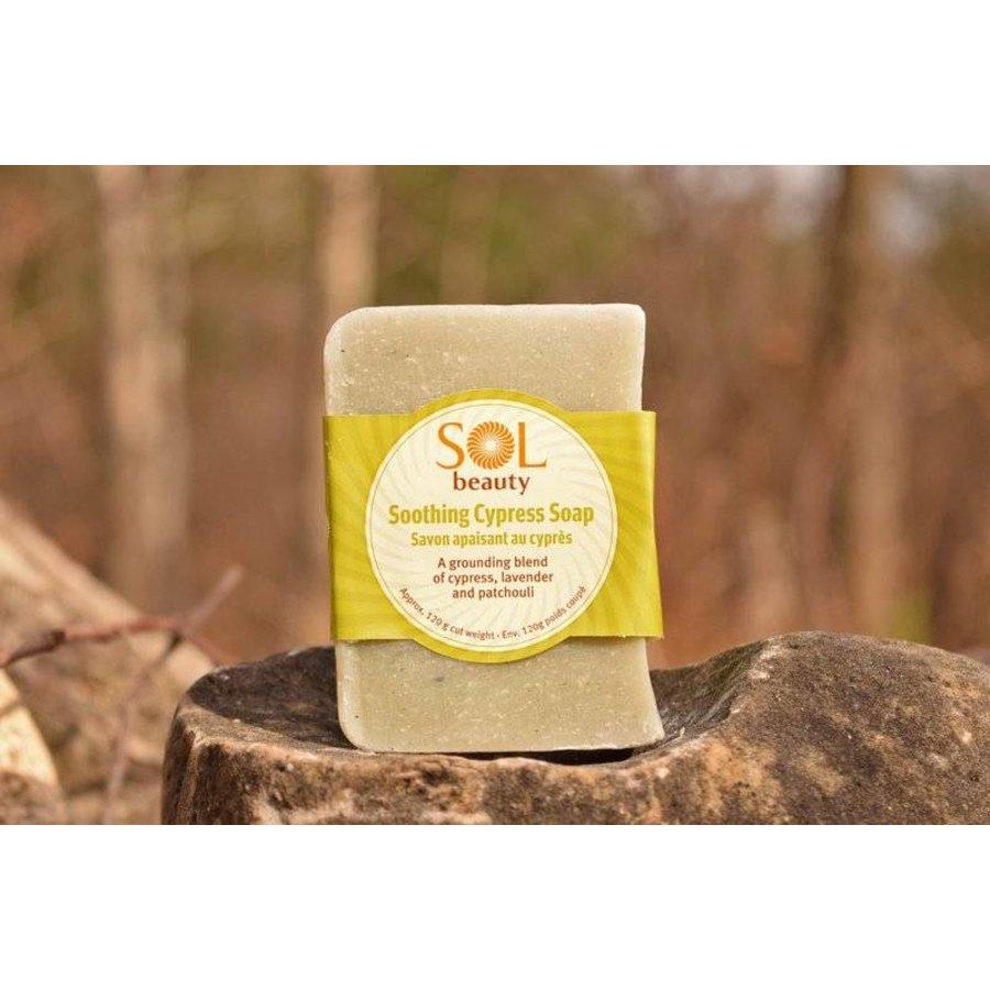 Sol All Natural Soap Cypress