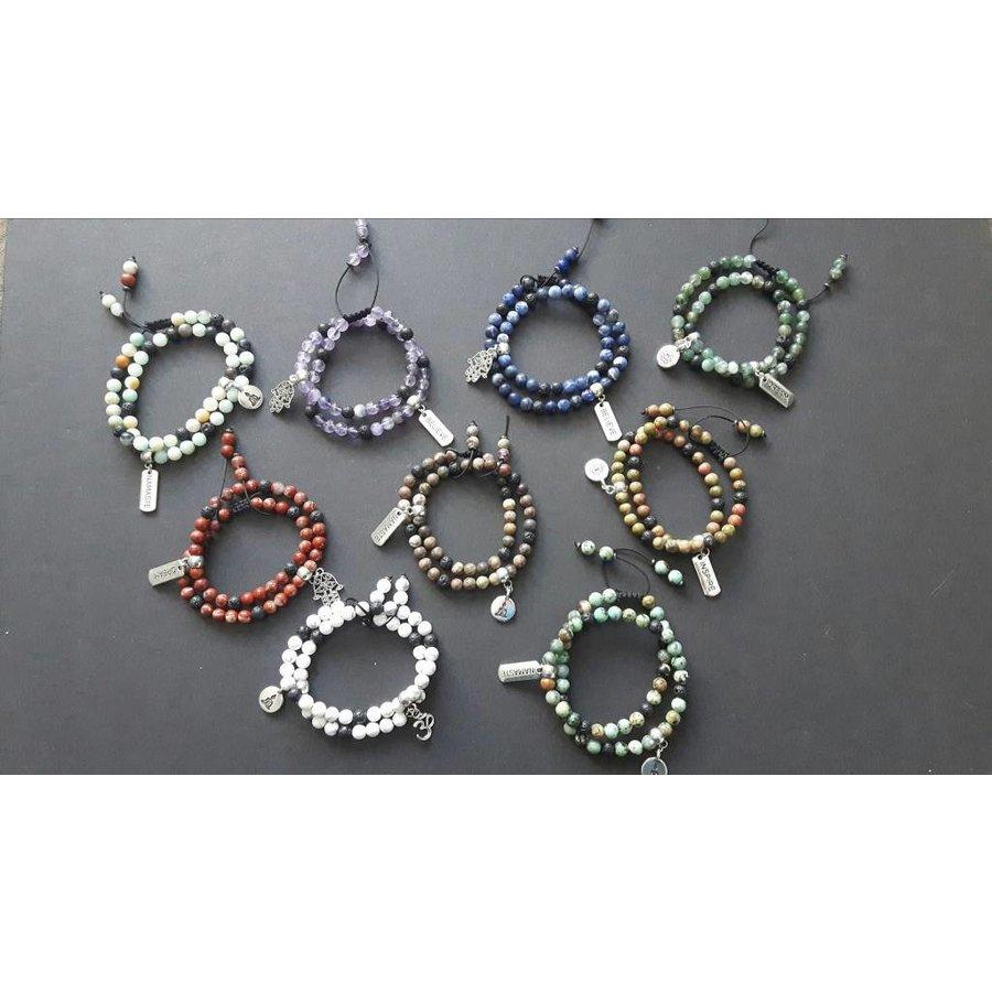 Spirited Earth Mala Double Wrap Bracelet