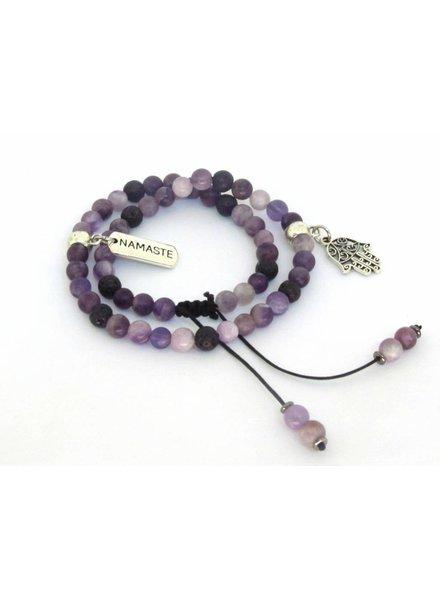 Mala Double Wrap Bracelet