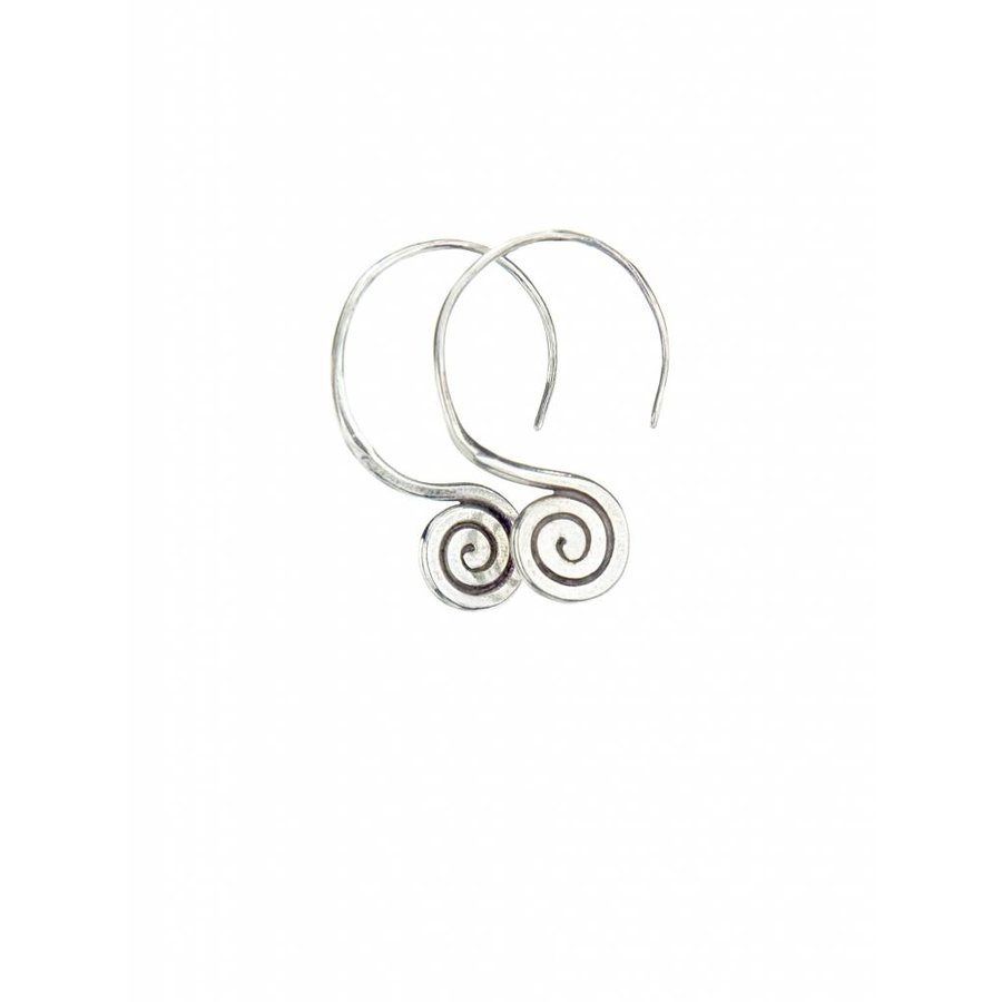 Talis Spiral Drop Earrings