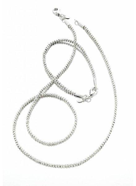 Silver Mini Bead Bracelet