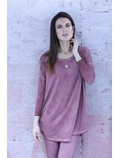 Rock Cotton Round Bottom Tunic w Pockets